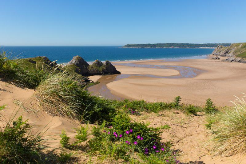 Gower Peninsula Wales