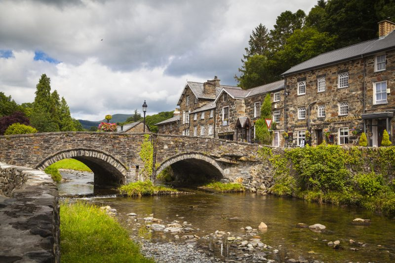 Beddgelert Snowdonia - best places to visit in north wales