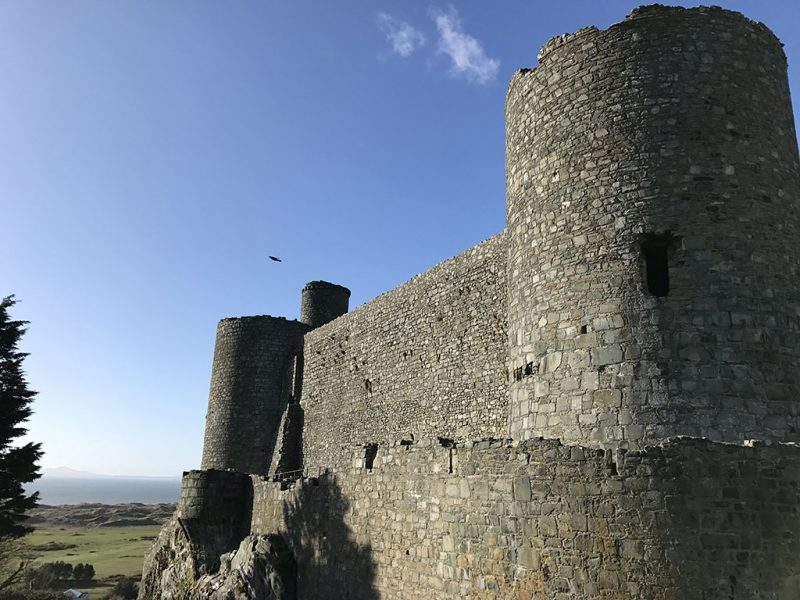Harlech Castle North Wales
