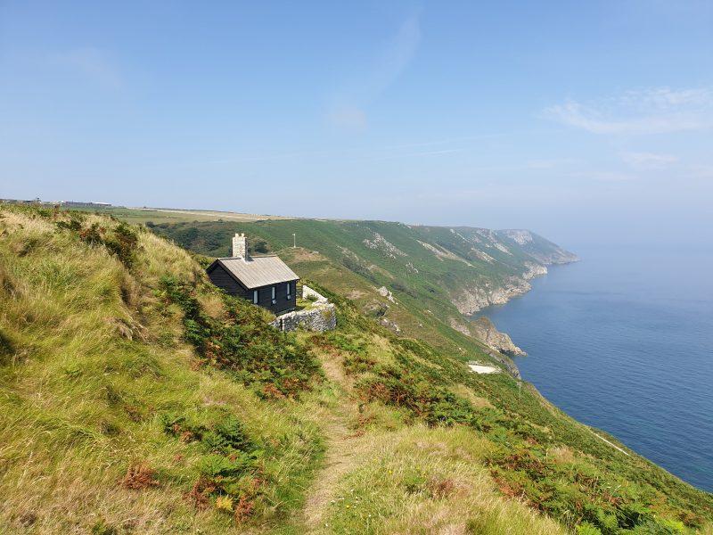 Lundy Island coastline - UK staycation ideas