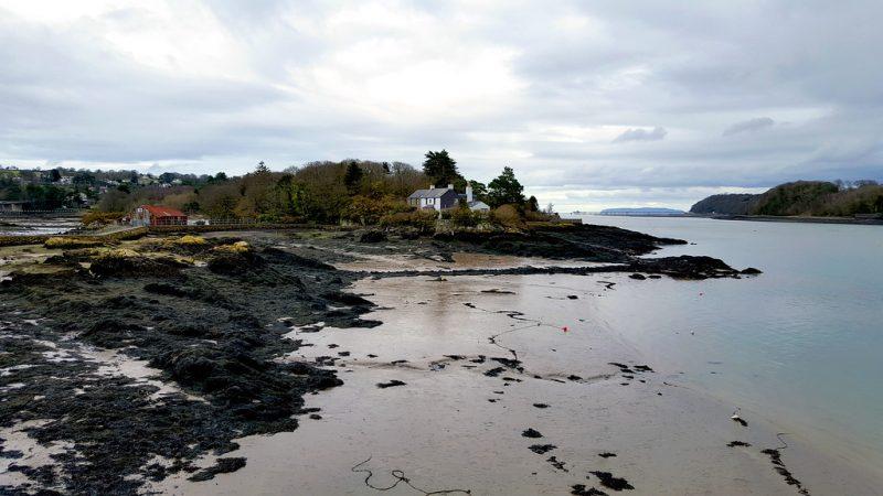 Menai Strait Anglesey North Wales