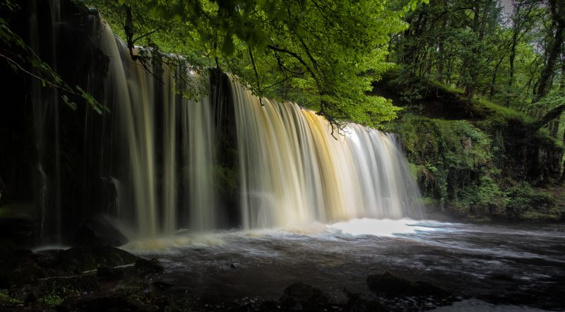 Waterfall in the Vale of Neath