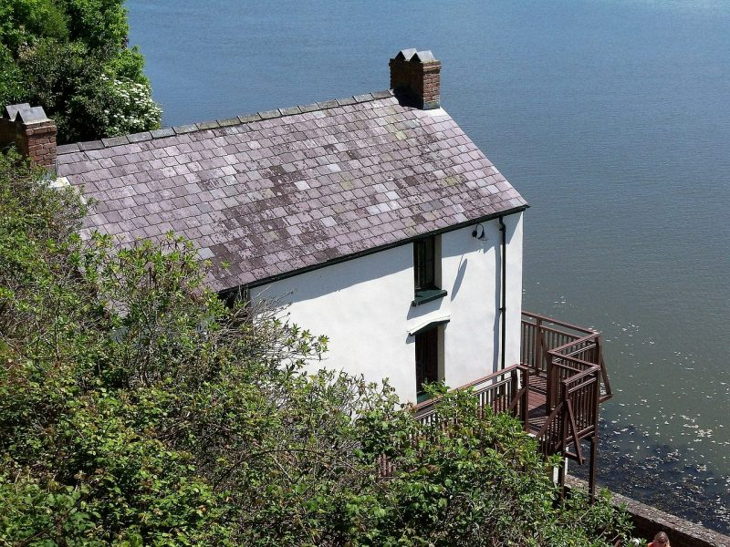 dylan thomas house laugharne south wales