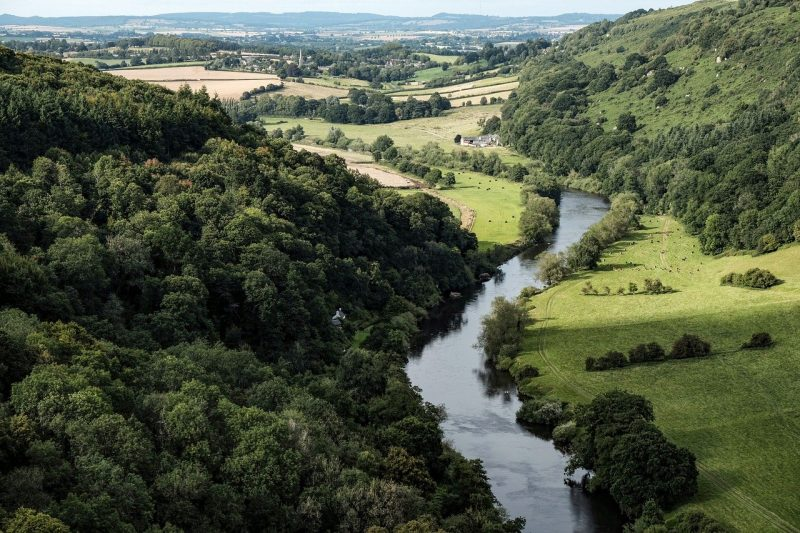 Wye Valley - one of the best places to visit in South Wales