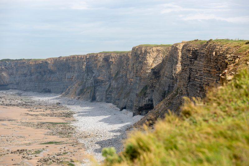 Cliffs and beach on the Glamorgan Heritage Coast
