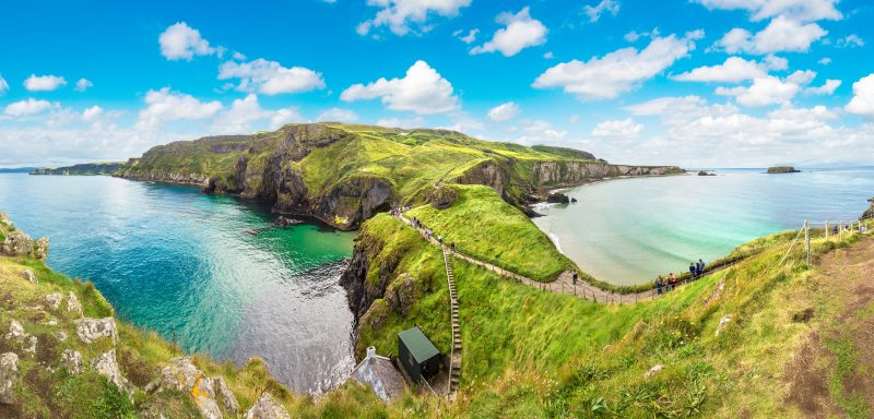 Best Places to Visit in Northern Ireland - Carrick a Rede Causeway Coast
