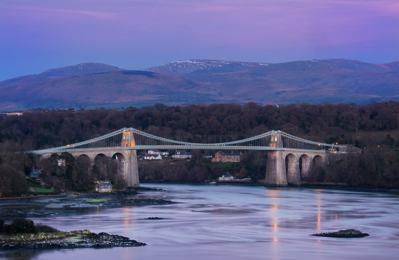 North Wales Coastal long distance cycle route UK