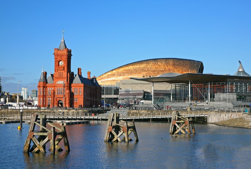 Cardiff Bay is one of the best things to do if you're visiting the city