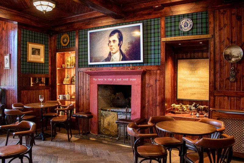 Burns Bar at Whispering Pine Lodge from Black Sheep Hotels
