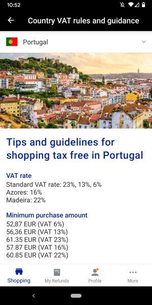 Global Blue App Tax Free Shopping Europe