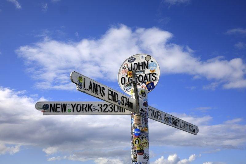 Lands End to John O'Groats
