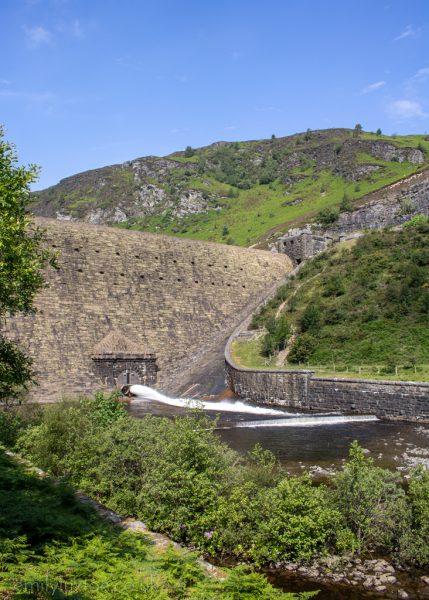 Caban Coch dam Elan Valley