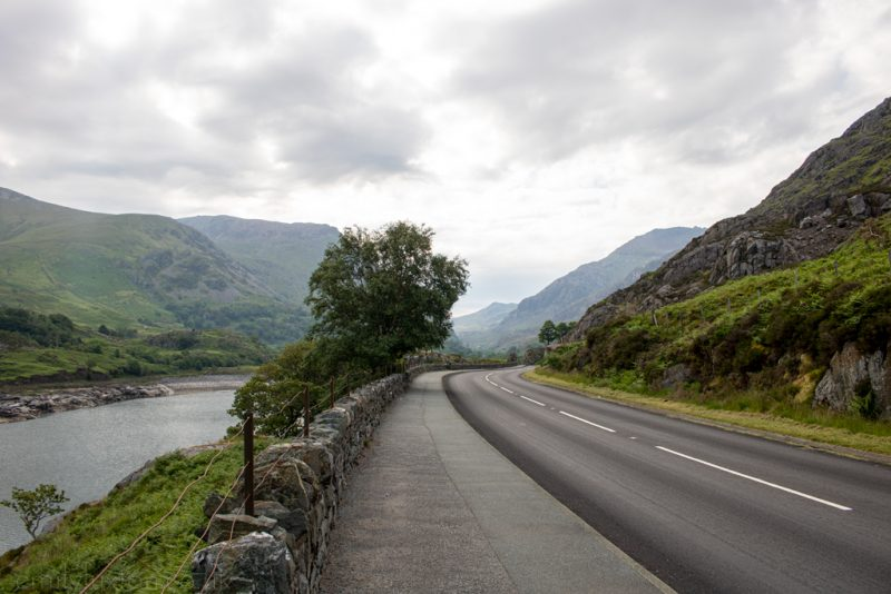 Llanberis Pass Snowdonia Road Trip Wales