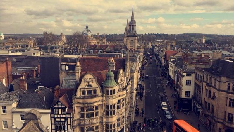 Carfax Tower Oxford England