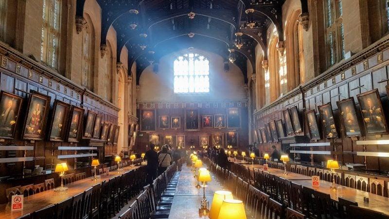Great Hall Christ Church College England