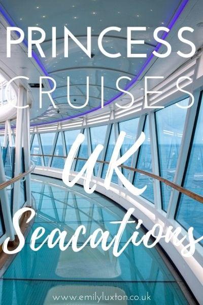 Princess Cruises Summer Seacations UK
