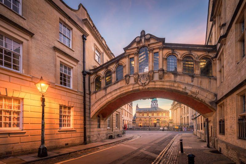 Bridge of Sighs Oxford England