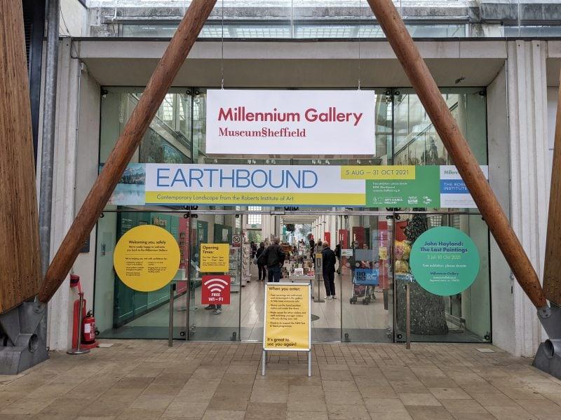 Millennium Art Gallery in Sheffield