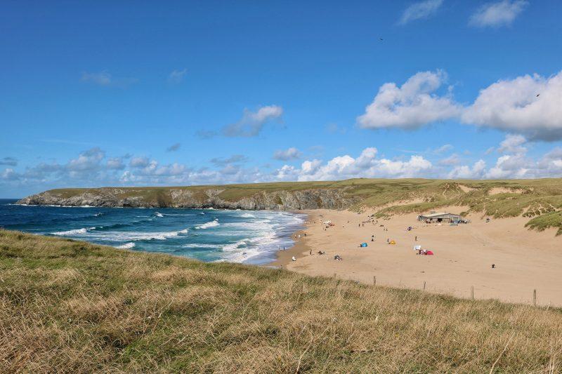 Holywell Beach near St Agnes Cornwall